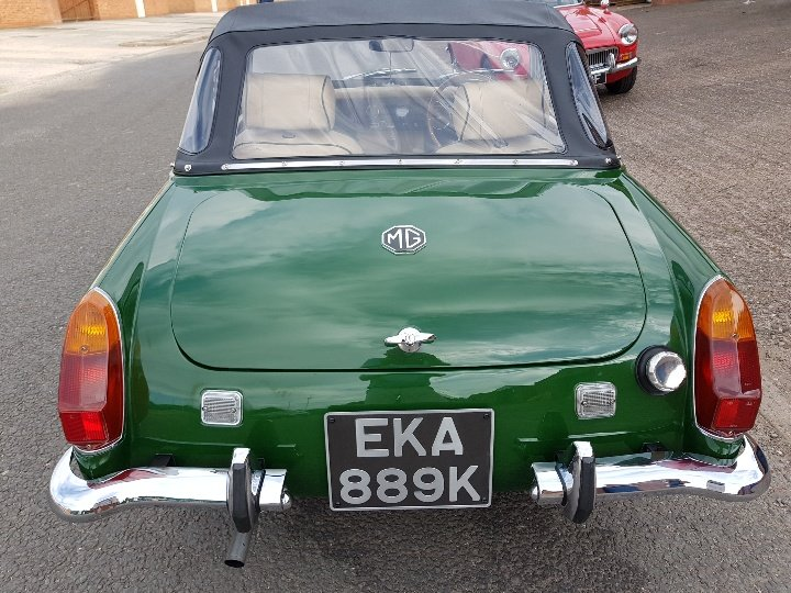 MG Midget RWA 1971, Totally rebuilt engine! SOLD (picture 3 of 6)