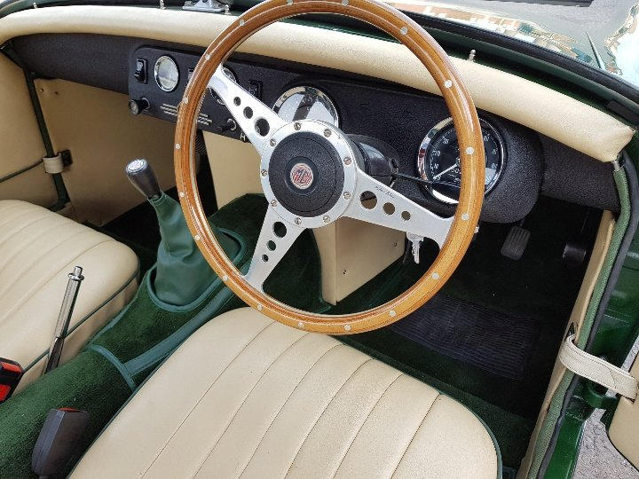 MG Midget RWA 1971, Totally rebuilt engine! SOLD (picture 4 of 6)