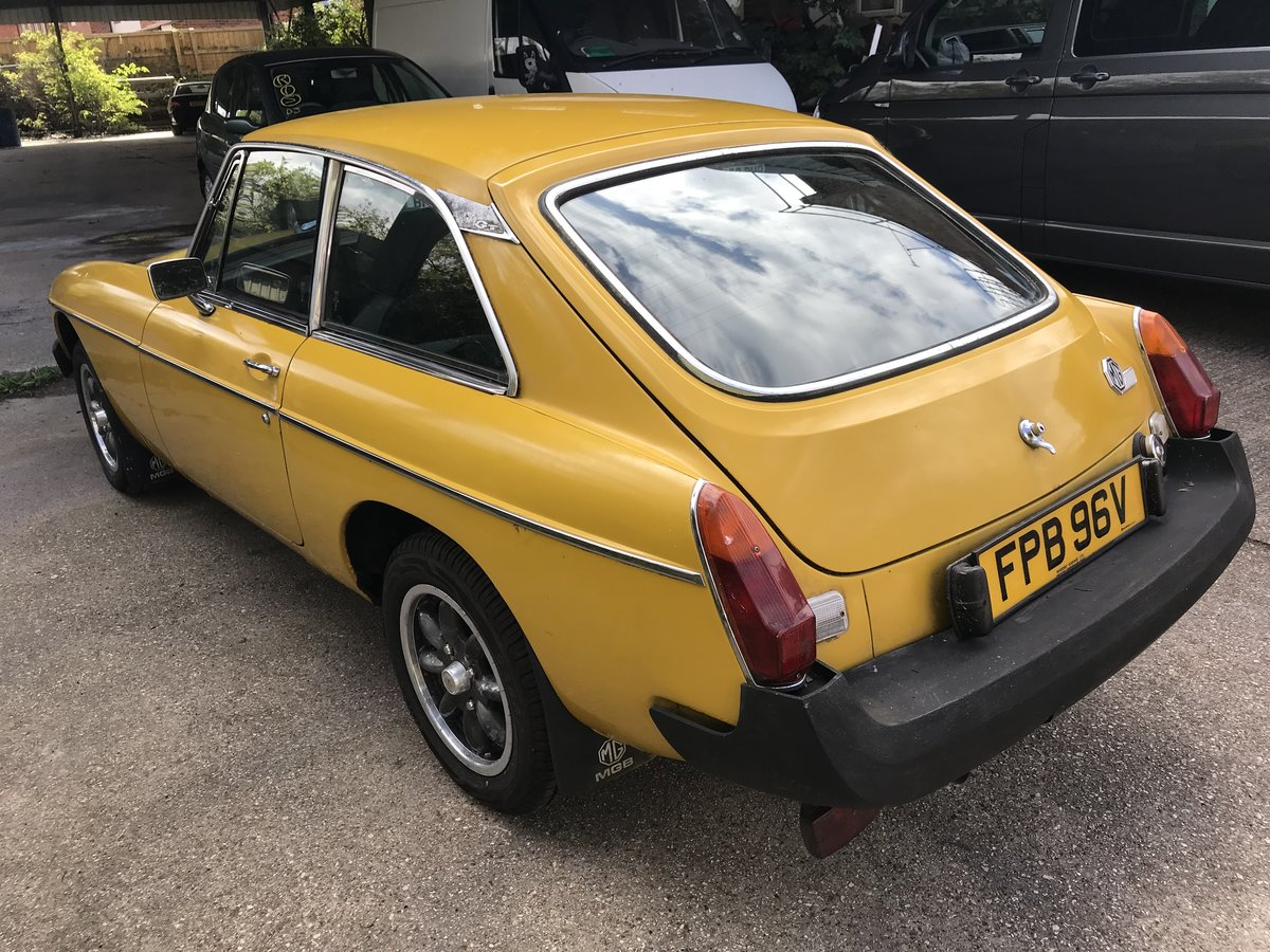 1979 MGB GT FOR COMPLETE RESTORATION SOLD (picture 3 of 6)