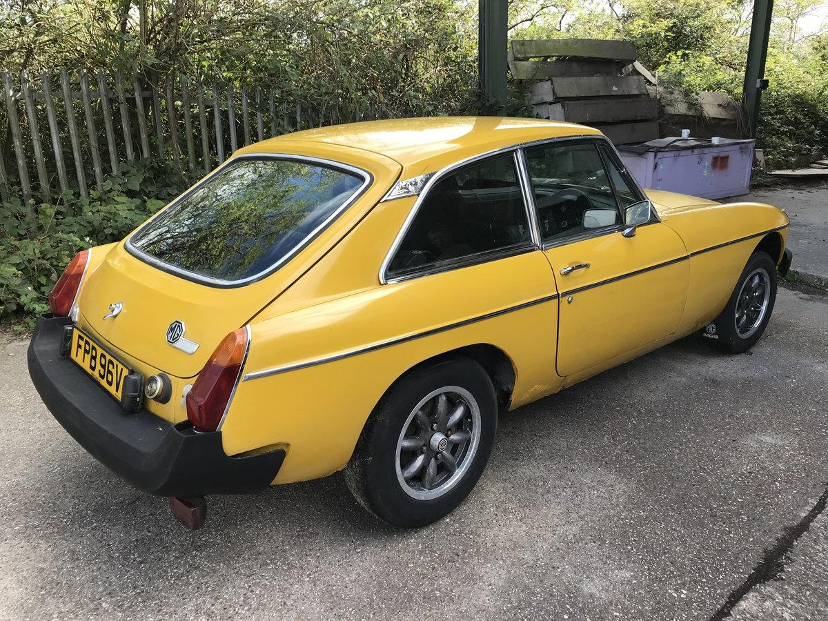 1979 MGB GT FOR COMPLETE RESTORATION SOLD (picture 6 of 6)