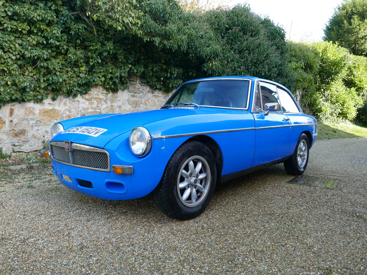 1980 MGB GT with Sebring valences For Sale (picture 1 of 6)