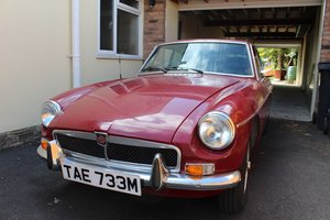 MG B GT 1974 - To be auctioned 25-10-19 For Sale by Auction