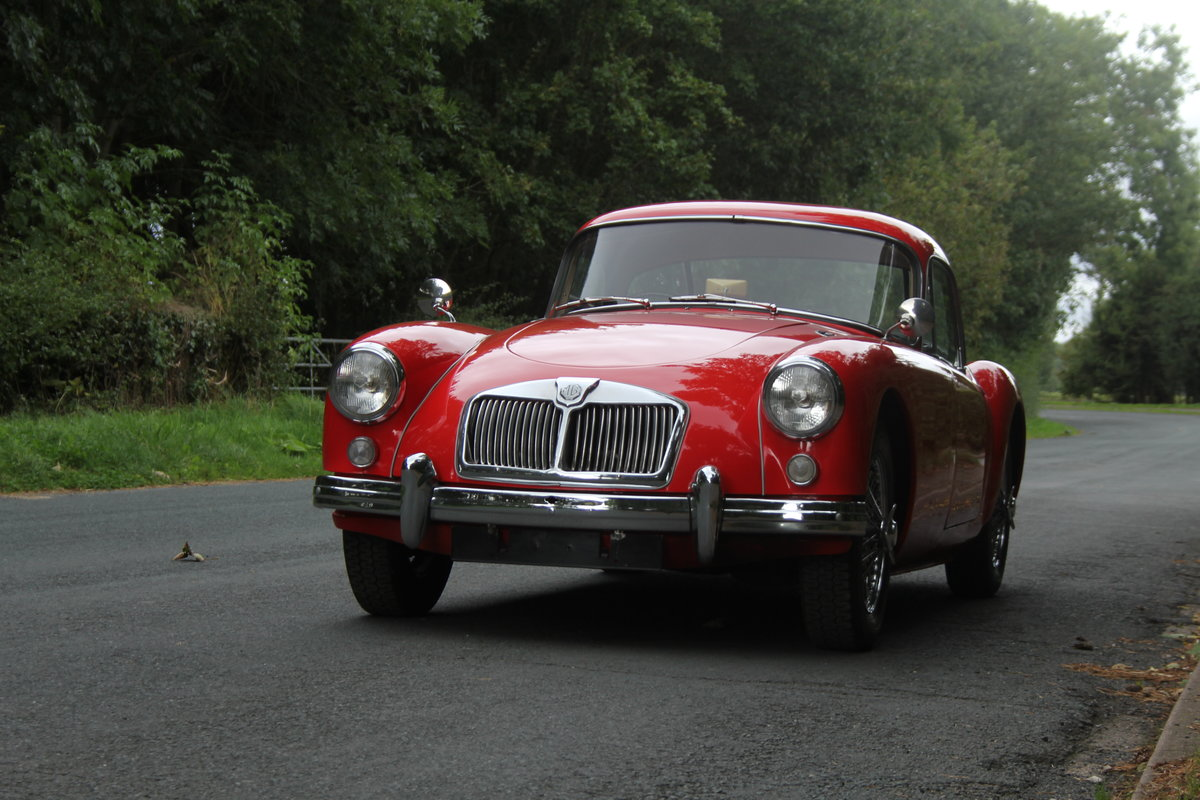 1957 MGA 1500 MKI Coupe For Sale (picture 3 of 19)