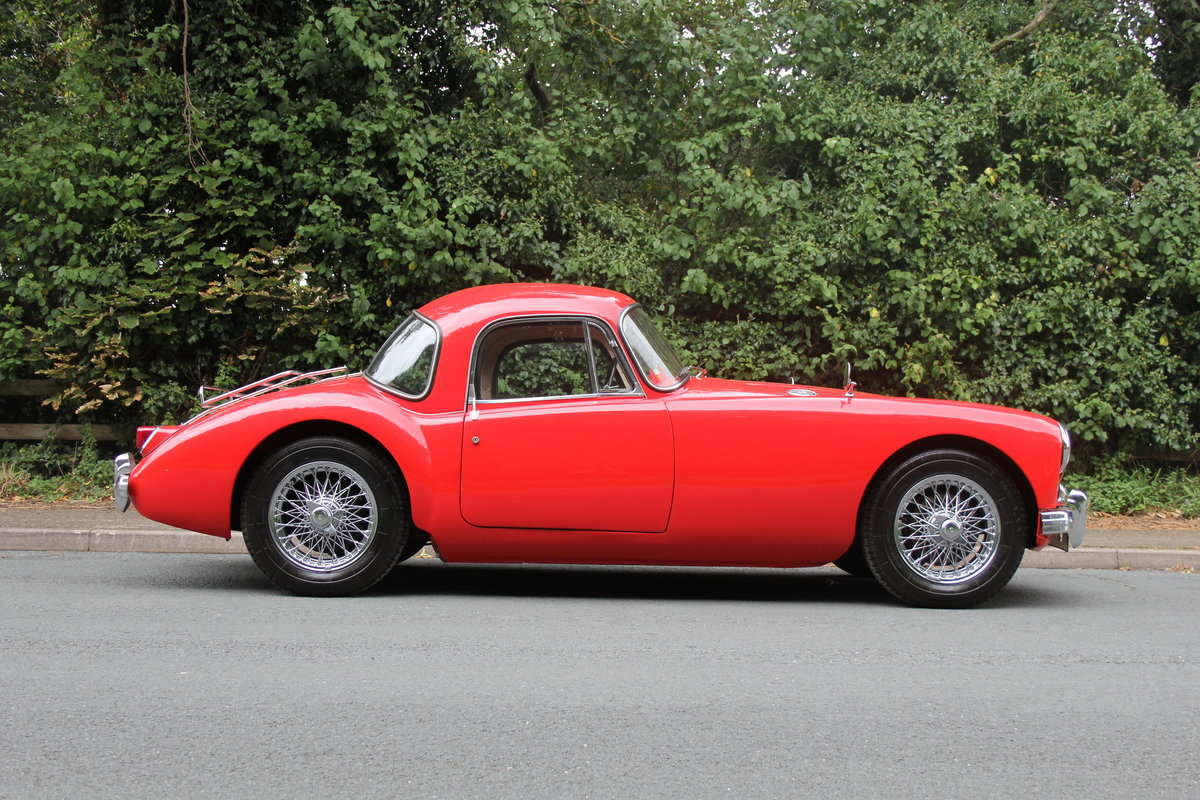 1957 MGA 1500 MKI Coupe For Sale (picture 7 of 19)