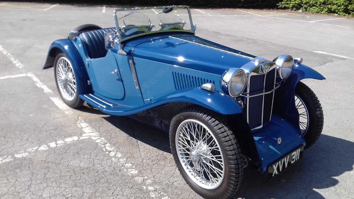 1934 MG PB Midget  For Sale (picture 1 of 6)