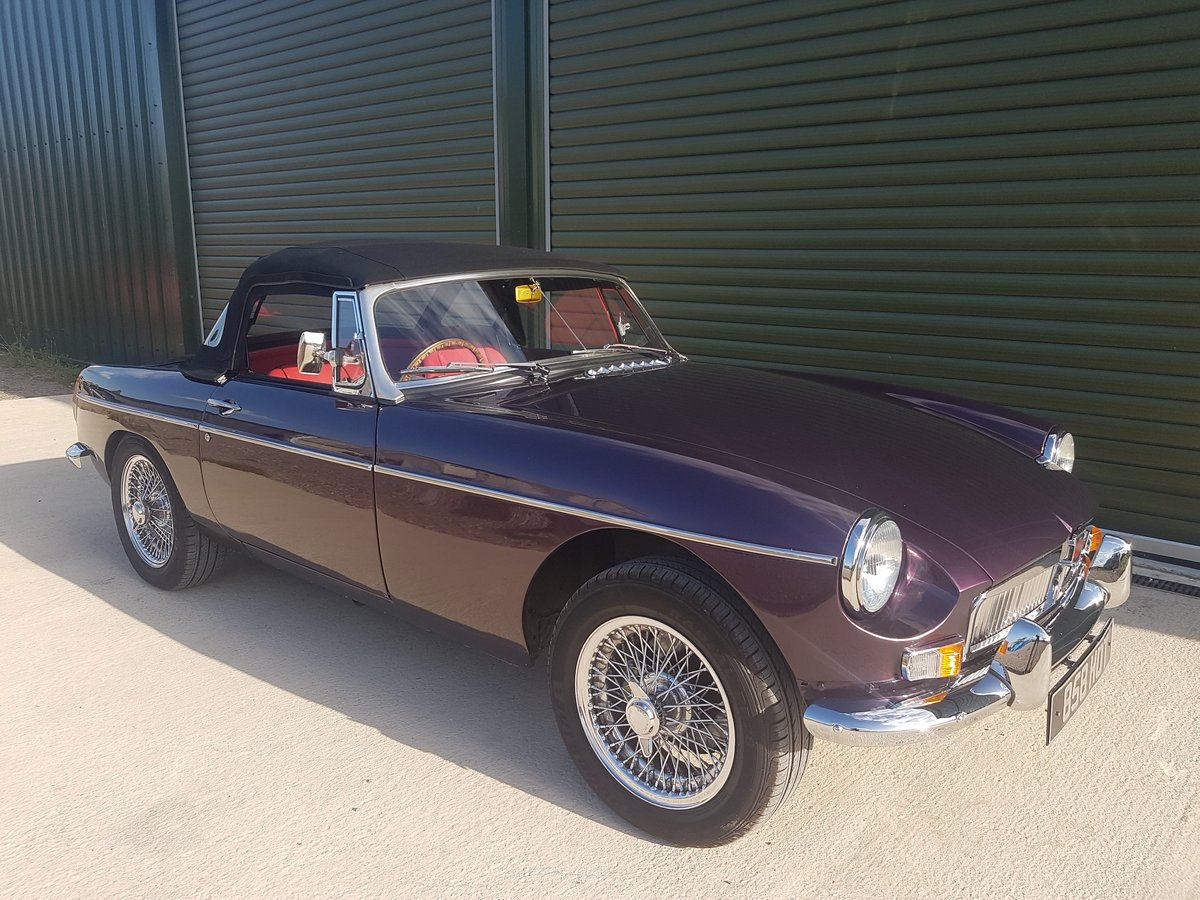 1970 MGB Roadster Heritage shell restoration, amazing spec. SOLD (picture 1 of 6)