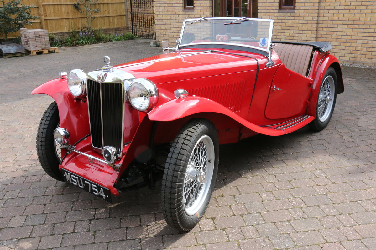 1947 MG TC  Excellent Condition SOLD (picture 1 of 6)