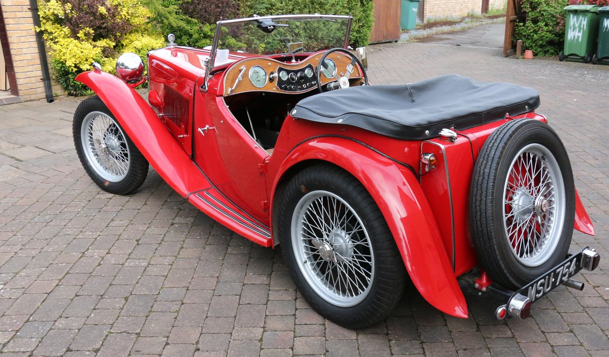 1947 MG TC  Excellent Condition SOLD (picture 2 of 6)