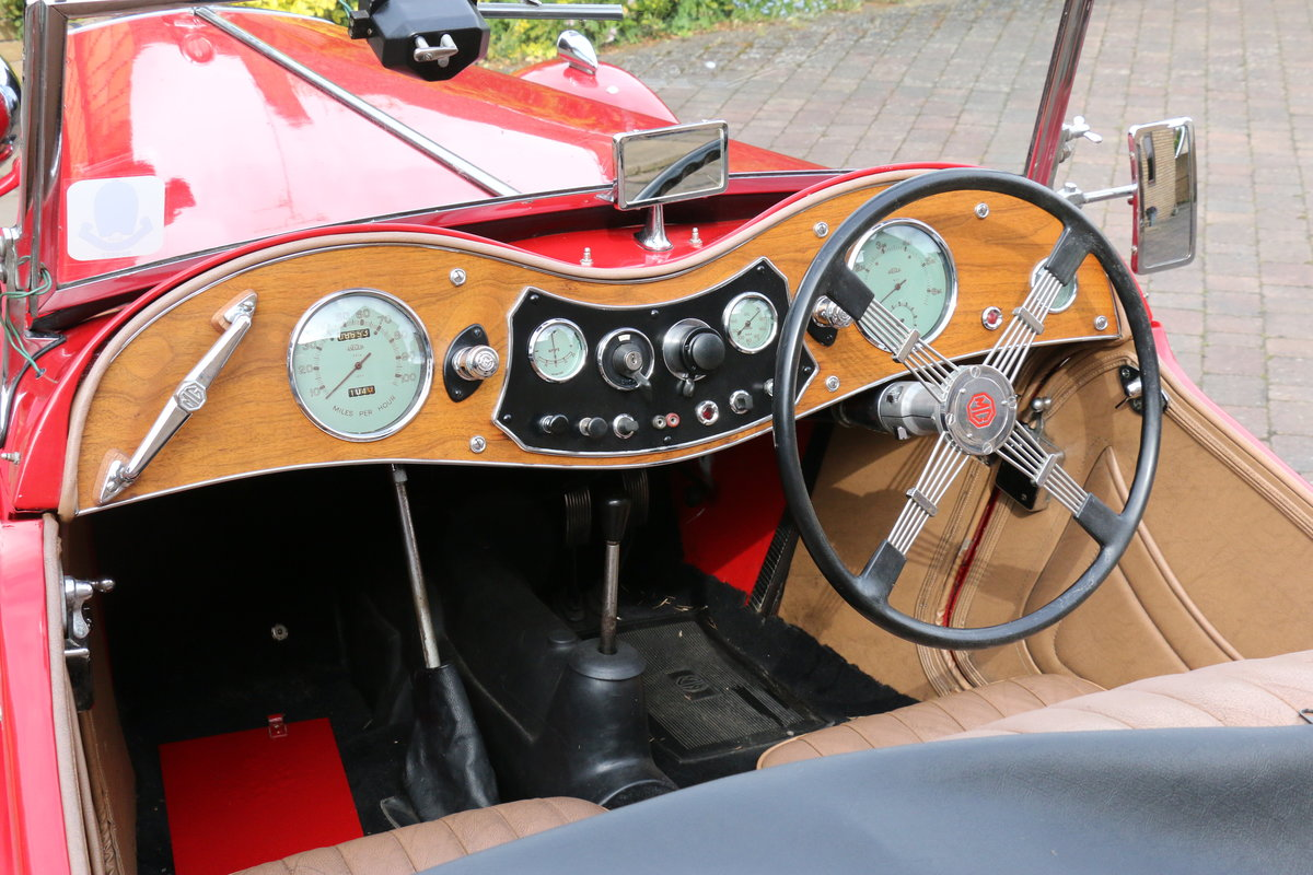 1947 MG TC  Excellent Condition SOLD (picture 3 of 6)