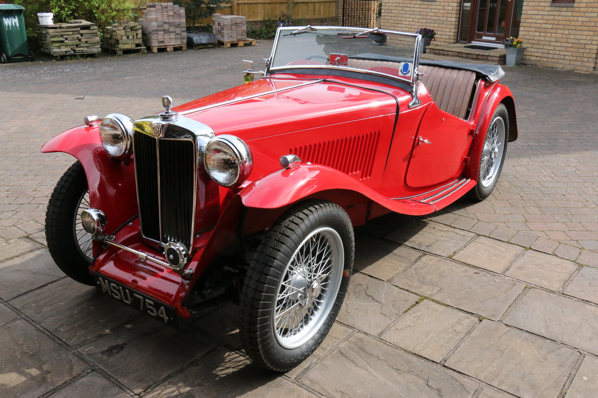 1947 MG TC  Excellent Condition SOLD (picture 5 of 6)