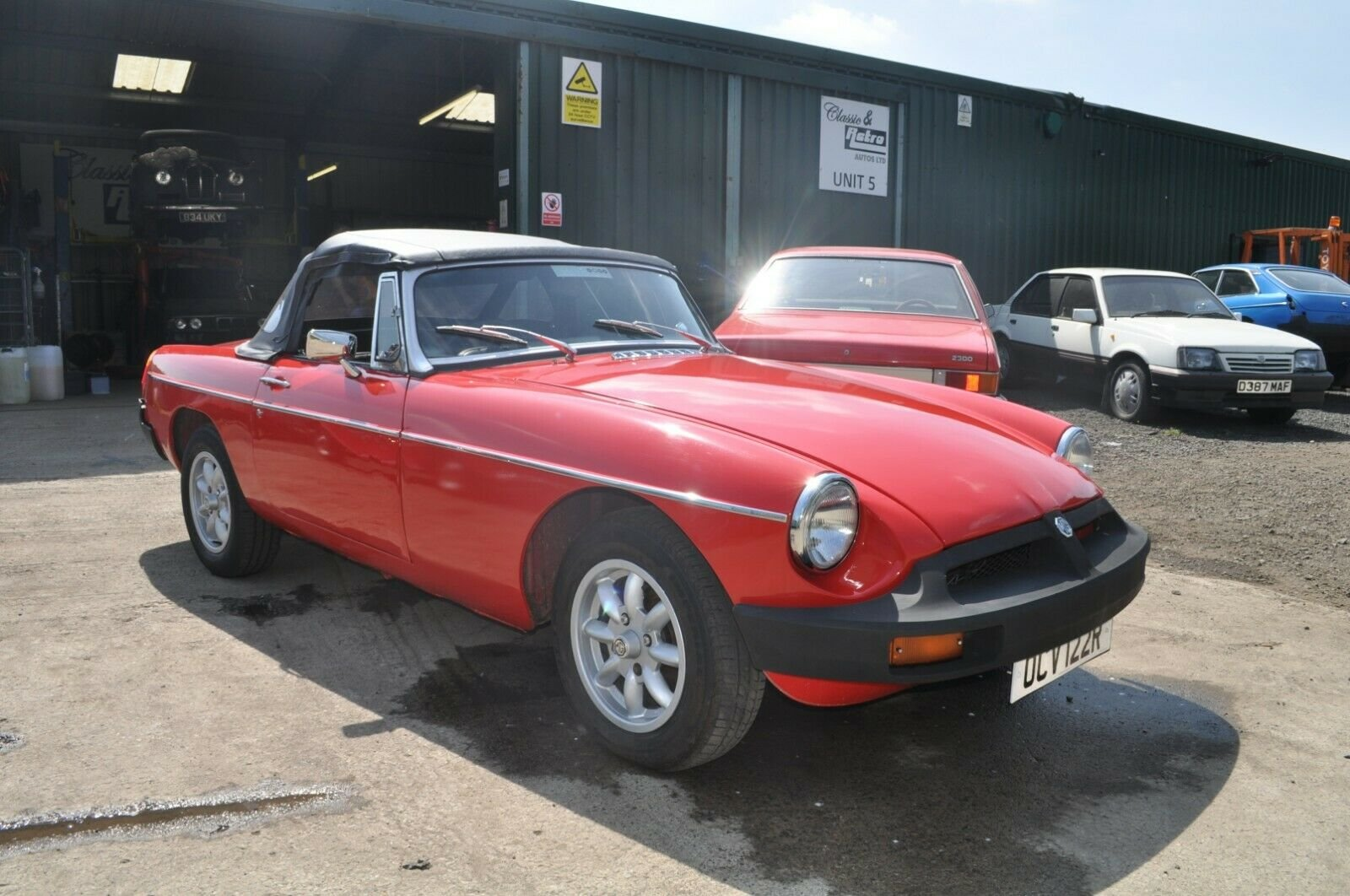 1977  MG MGB ROADSTER TAX EXEMPT LOVELY USABLE CLASSIC CAR SOLD (picture 4 of 6)