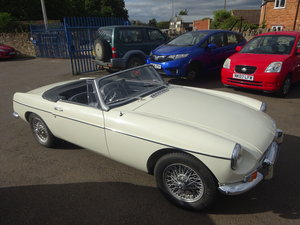 1964 MGB Roadster Lovely pull handle Mk 1