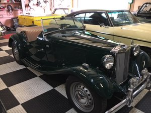1954 MG TD Perfect for Brit That Wants Left Hand Drive For Sale
