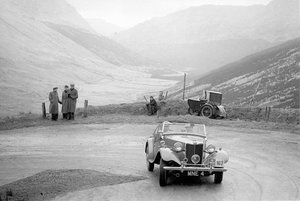 1952 MG TD RAC Rally Car ex. Reg Harris For Sale