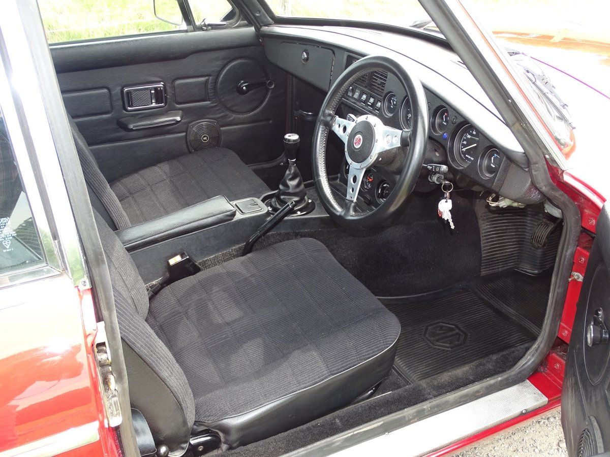 1980 Exceptional MGB GT, 77000m, Full history, sunroof, overdrive SOLD (picture 3 of 6)