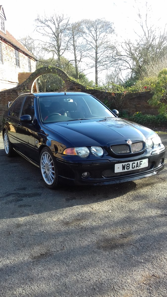 2003 MG ZS Very Low Mileage Rare  For Sale (picture 2 of 6)
