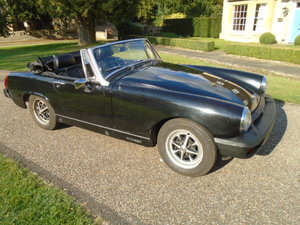1975 MG Midget 1500cc rubber bumper model.  For Sale