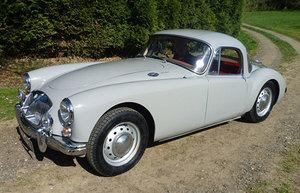 1961 MGA 1600 MK II Coupe, Dove Grey, UK car For Sale