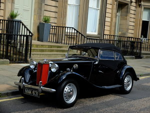 1952 MG TD - LOW ONRS - UK RHD - JUST 36K MILES FROM NEW ! For Sale