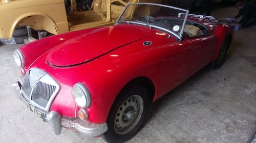 1962 MGA MK2 Deluxe Roadster For Sale
