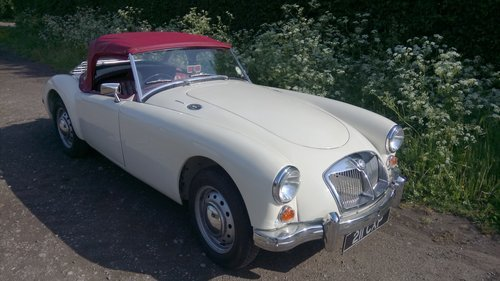 1957 MGA Roadster for sale For Sale (picture 1 of 1)