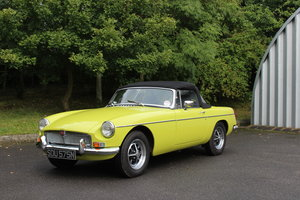 1974 MGB 1.8 ROADSTER - OVERDRIVE For Sale