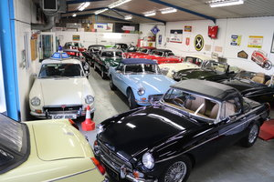 17 MGB ROADSTERS IN STOCK,1963-1974 MGOC RECOMMENDED
