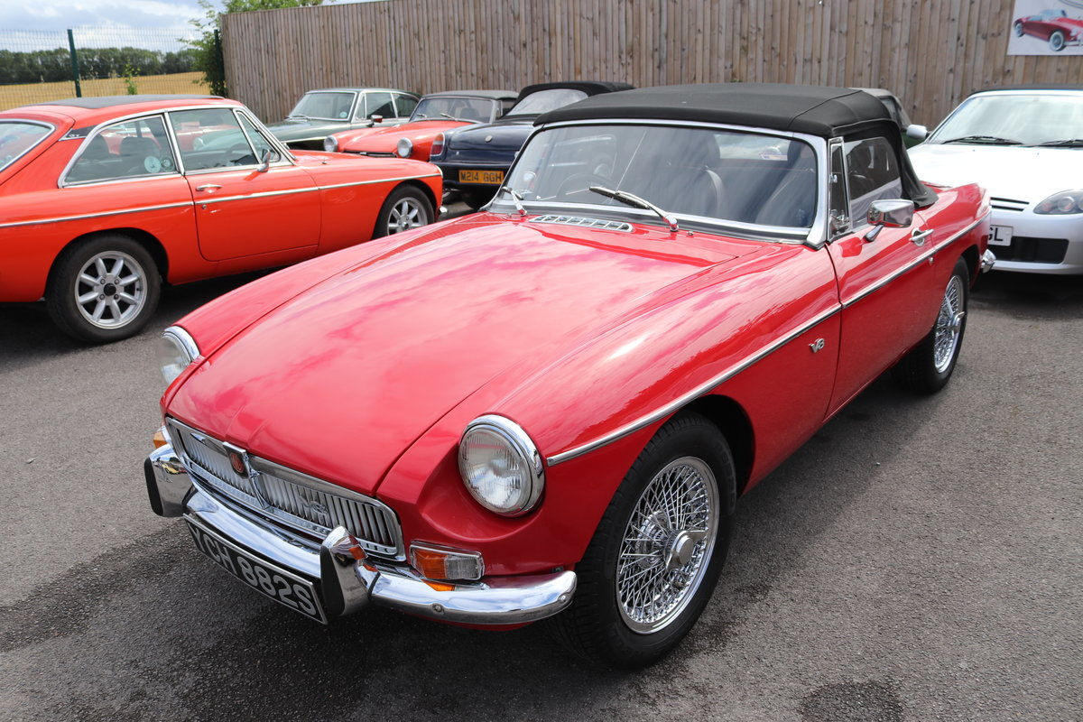 1975 17 MGB ROADSTERS IN STOCK,1963-1974 MGOC RECOMMENDED For Sale (picture 2 of 6)