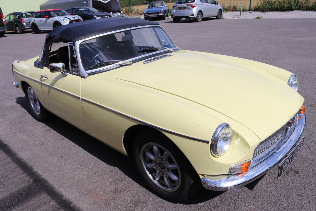 1975 17 MGB ROADSTERS IN STOCK,1963-1974 MGOC RECOMMENDED For Sale (picture 6 of 6)