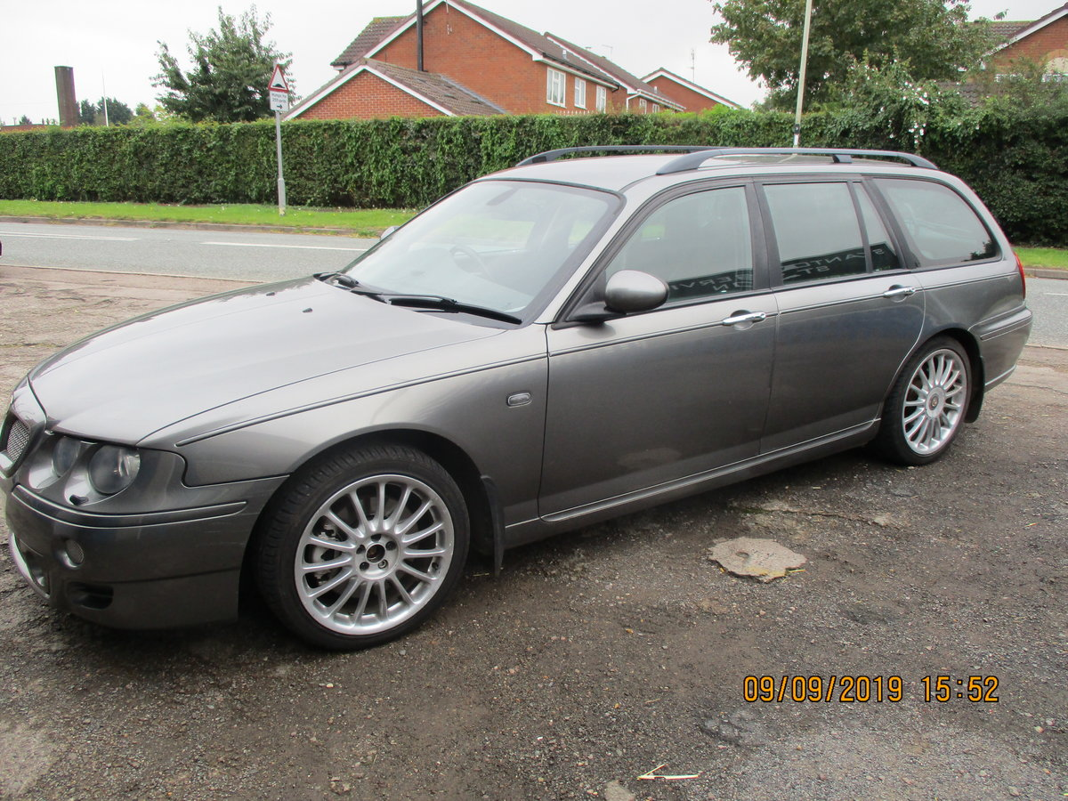 2003 MG ZTT ESTATE V/6 2.5cc MANUAL WITH A TOW BAR  NEW MOT/ CAM  For Sale (picture 1 of 6)