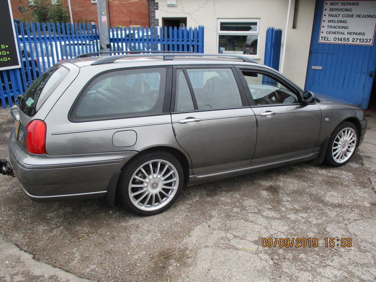 2003 MG ZTT ESTATE V/6 2.5cc MANUAL WITH A TOW BAR  NEW MOT/ CAM  For Sale (picture 2 of 6)
