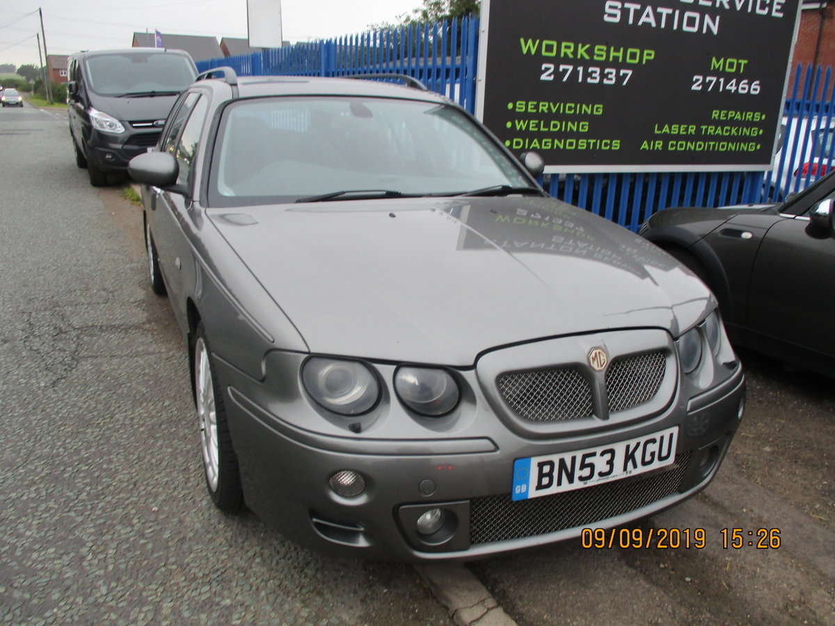 2003 MG ZTT ESTATE V/6 2.5cc MANUAL WITH A TOW BAR  NEW MOT/ CAM  For Sale (picture 3 of 6)