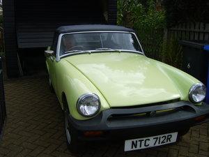 1977 MG midget 1500 70700 mis.