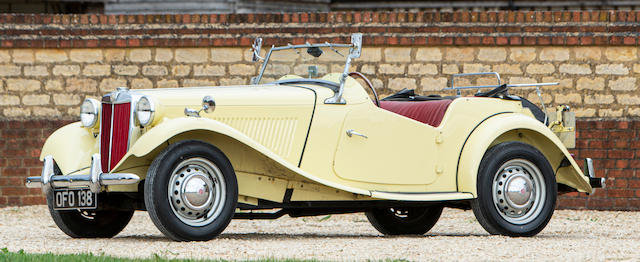 1950 MG TD For Sale by Auction