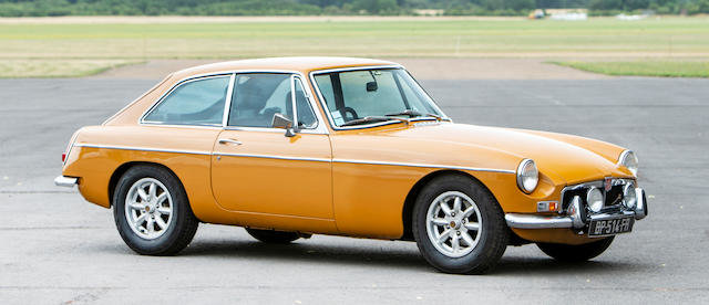 1974 MGB GT COUPÉ For Sale by Auction