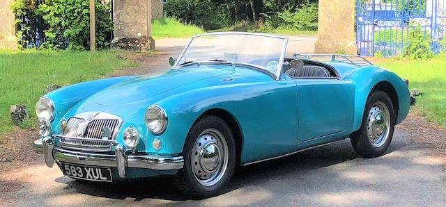 1959 MG A 1500 ROADSTER For Sale by Auction