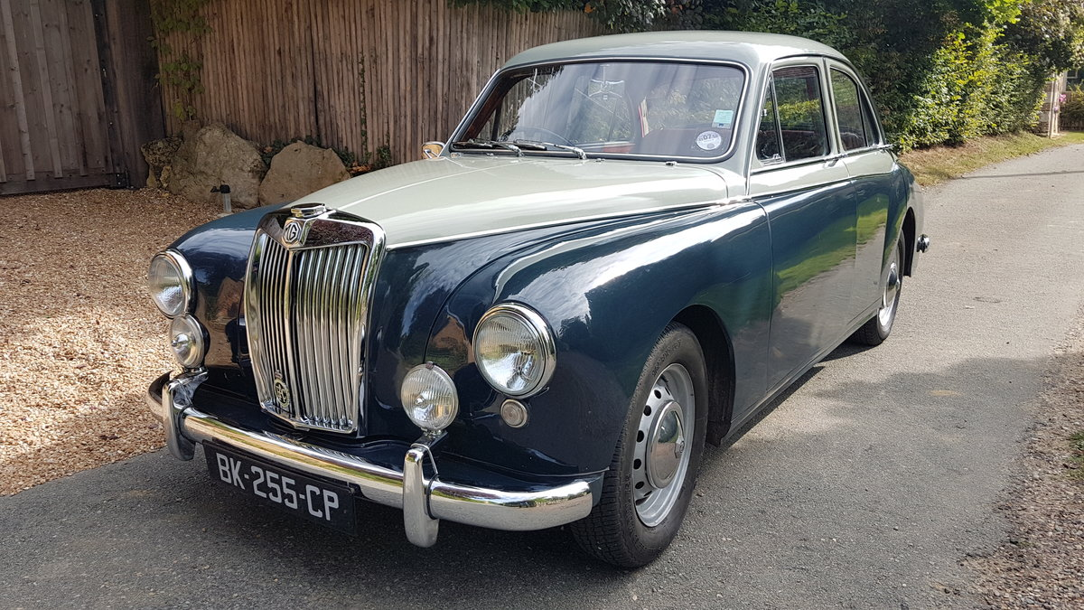 1957 MG Magnette Varitone  For Sale (picture 3 of 6)