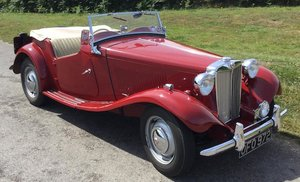 1950 MG TD TWO-SEATER For Sale by Auction