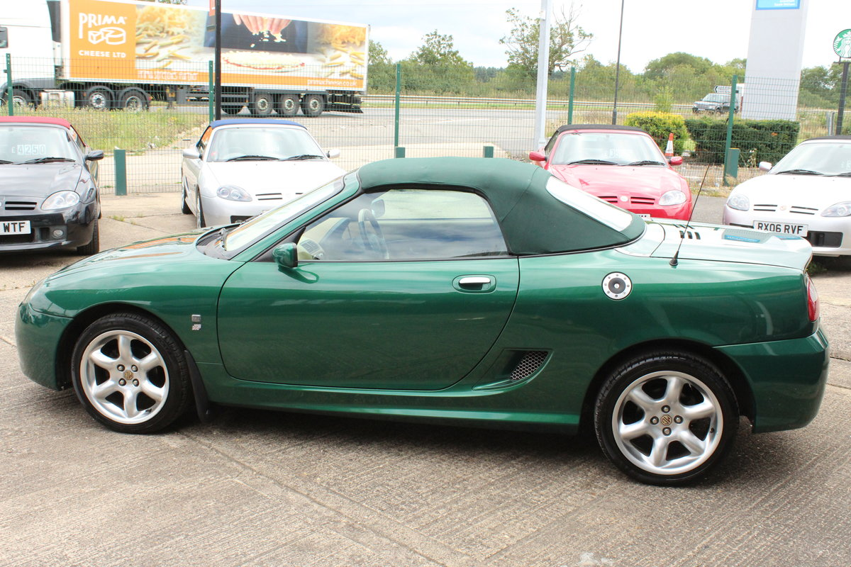 2003 MGTF,TAN INTERIOR,23000 MILES,NEW HEADGASKET,BELT&PUMP For Sale (picture 2 of 6)