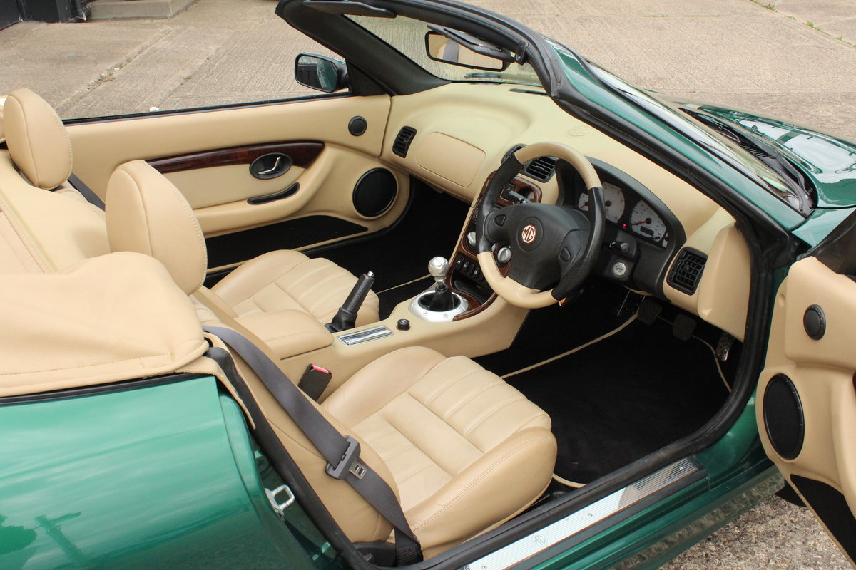2003 MGTF,TAN INTERIOR,23000 MILES,NEW HEADGASKET,BELT&PUMP For Sale (picture 3 of 6)