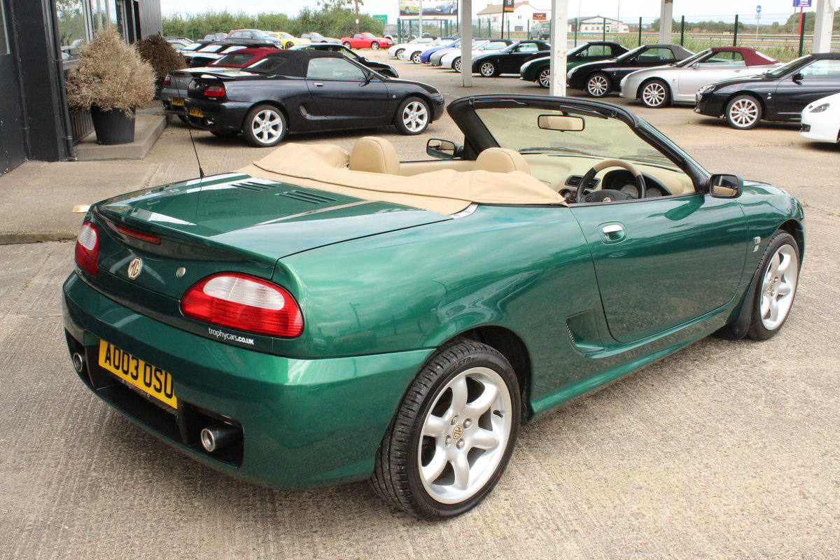2003 MGTF,TAN INTERIOR,23000 MILES,NEW HEADGASKET,BELT&PUMP For Sale (picture 4 of 6)