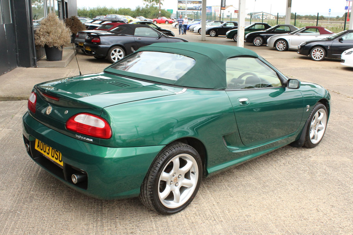 2003 MGTF,TAN INTERIOR,23000 MILES,NEW HEADGASKET,BELT&PUMP For Sale (picture 5 of 6)