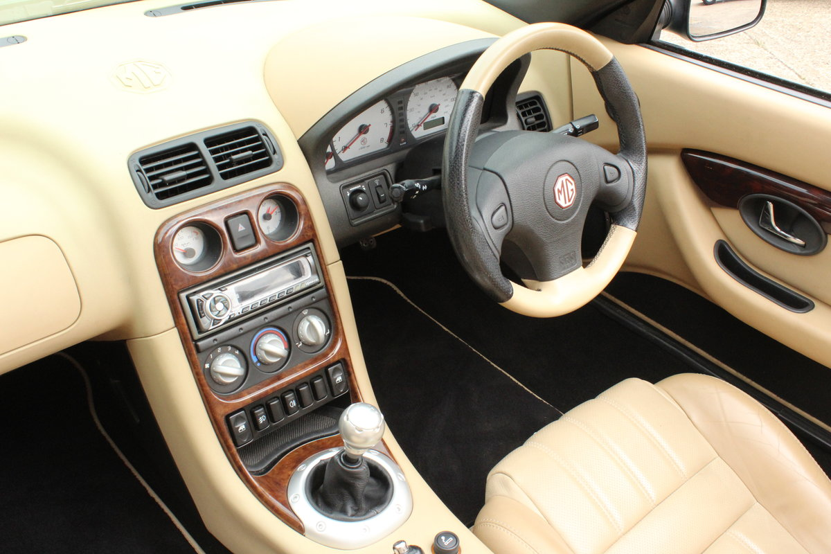 2003 MGTF,TAN INTERIOR,23000 MILES,NEW HEADGASKET,BELT&PUMP For Sale (picture 6 of 6)