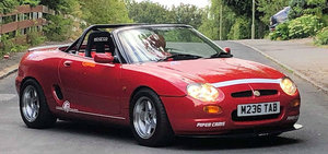 1995 MG F EX-WORKS CAR For Sale by Auction