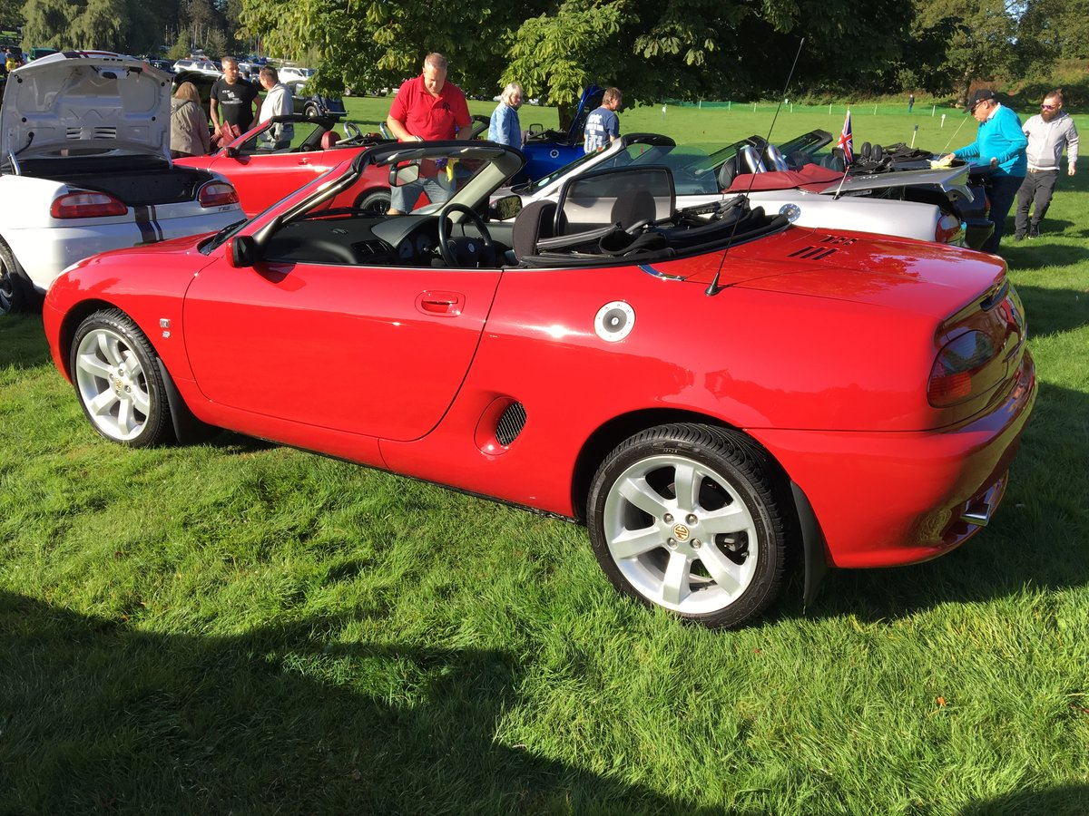 "2001 MGF 1.8 ""Low Mileage"" Superb Example For Sale (picture 1 of 6)"