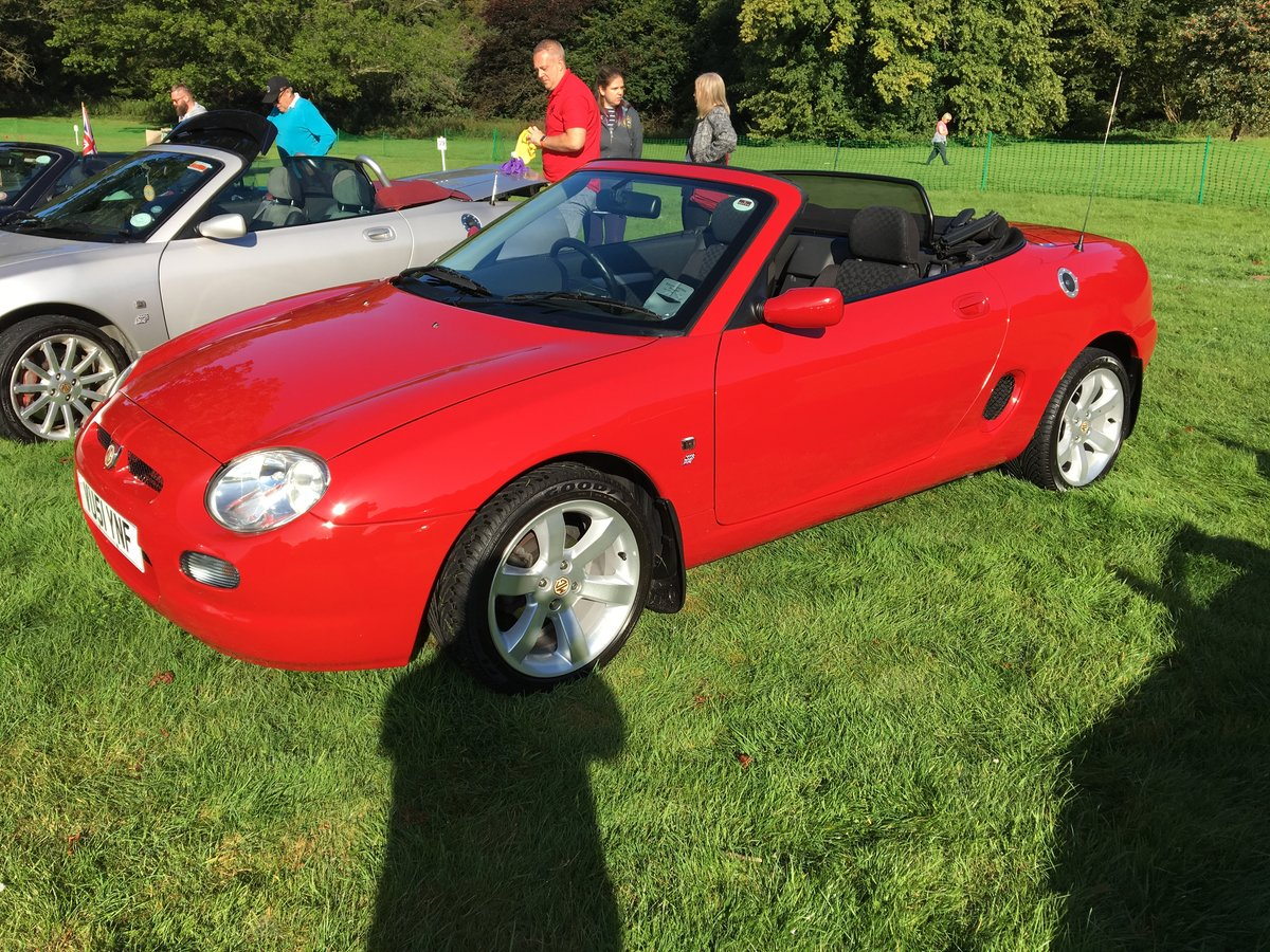 "2001 MGF 1.8 ""Low Mileage"" Superb Example For Sale (picture 2 of 6)"