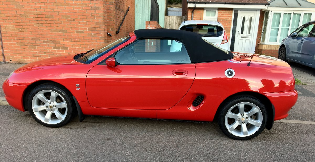 "2001 MGF 1.8 ""Low Mileage"" Superb Example For Sale (picture 3 of 6)"