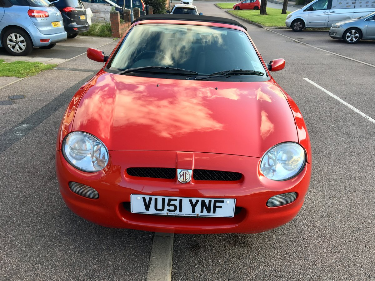 "2001 MGF 1.8 ""Low Mileage"" Superb Example For Sale (picture 4 of 6)"