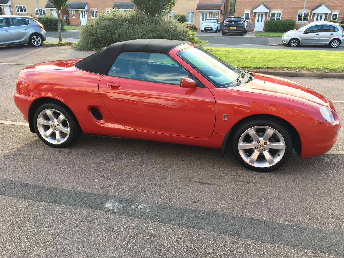 "2001 MGF 1.8 ""Low Mileage"" Superb Example For Sale (picture 5 of 6)"