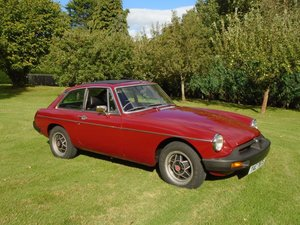 1977 1978 MGB GT with Overdrive  SOLD